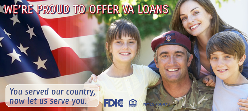 Catlin Bank | See us for VA Loans!